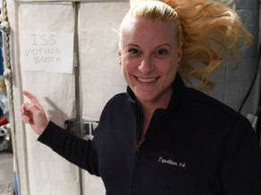 American astronaut shows the world how to vote from space:  How'd she do it?
