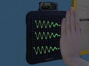 Digital Braille speaker communicates using mid-air pulses.