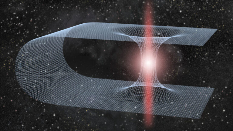 There may be realistic ways to create wormholes in space!