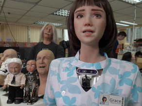 Meet Grace, the healthcare robot designed to talk to people in Covid isolation