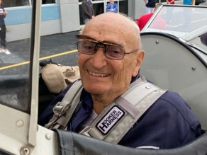 WWII veteran, 96, honored with flight on 1940s-era plane