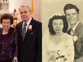Love that lasts: Couple works together over 70-year marriage