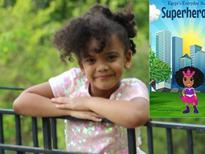 5-Year-Old Girl Pens Book Series on COVID Superheroes After Virus Closes Her Library