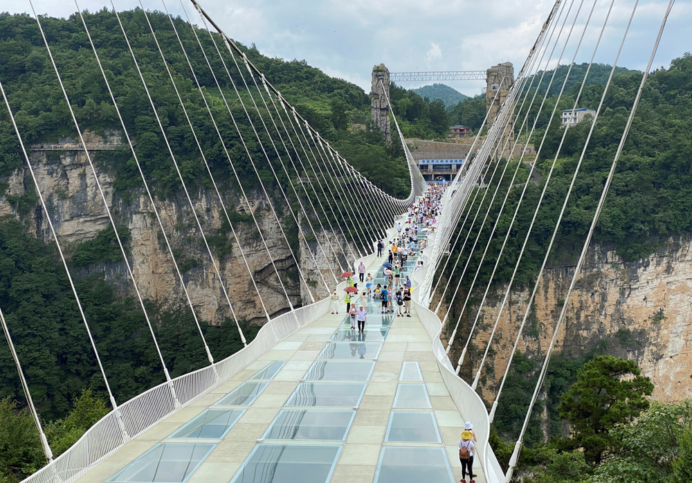 Can't afford to go to space? Try the world's tallest bungee jump instead. It's insane!