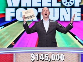 He won $145,000 on 'Wheel of Fortune' and now he's donating it all to charity