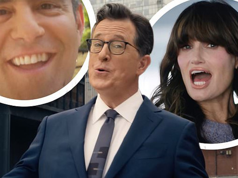 Idina Menzel, Stephen Colbert & more pay tribute to NYC by singing 'New York State of Mind'