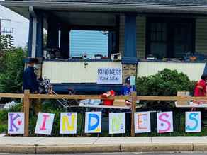 How a 2-day 'Kindness Yard Sale' turned into a year's worth of kindness
