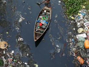How bubbles are being used in Amsterdam to catch canal plastic