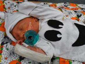 NICU babies celebrate Halloween with adorable costumes
