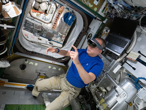New augmented reality applications assist astronaut repairs to space station