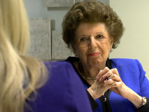 Holocaust survivor Lisl Schick uses experience to teach kindness