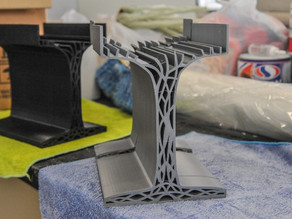 Researchers develop plastic construction beams based on LEGO bricks  --  strong as concrete