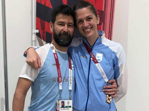Argentina Fencer Perez Maurice lost match but won in marriage