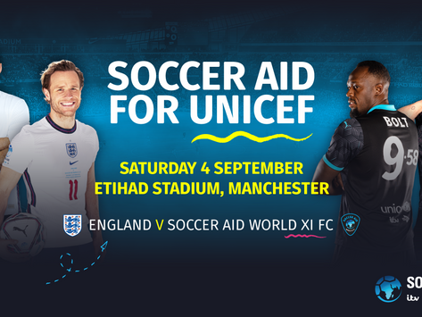 Large List of International Football Stars To Join Soccer Aid For UNICEF 2021