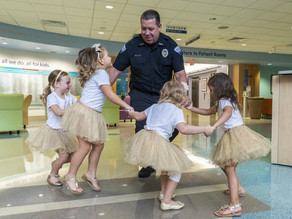 The tutu girls: group of young cancer survivors reunites