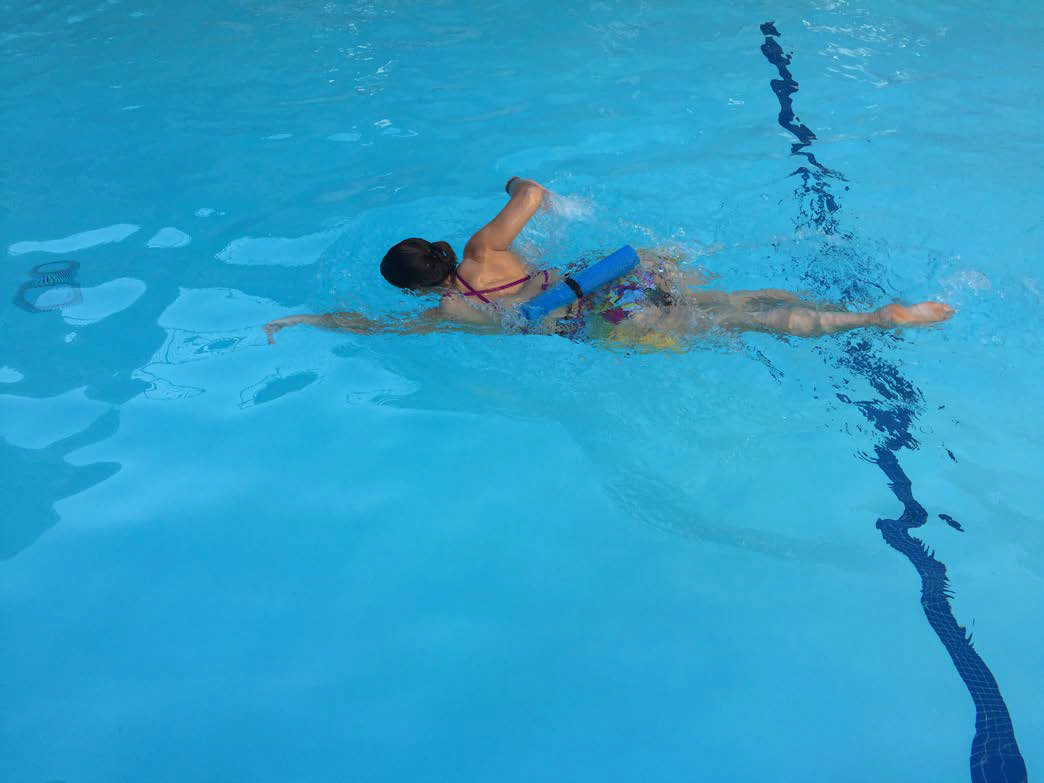 Buoyancy Test - Back & HIps