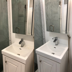 Clean & Disinfected move in bathroom