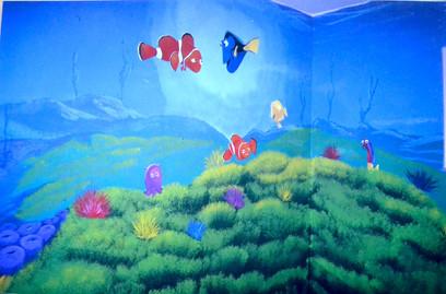 Pediatric medical office mural