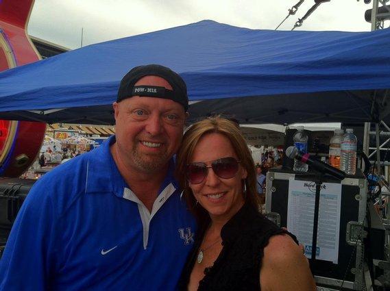 with Eddie Montgomery at CMA Fest