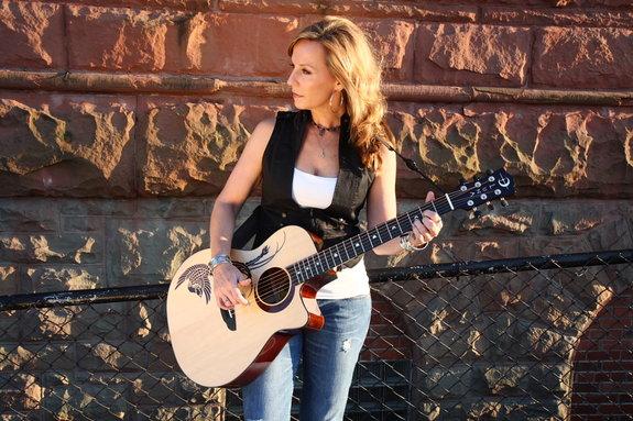 Luna Guitar photo shoot