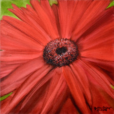 Big Red Flower #2