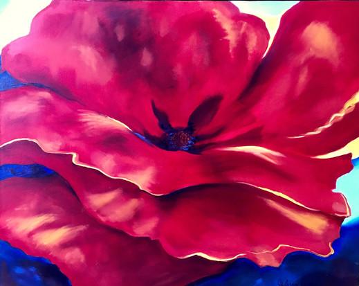 Big Red Flower