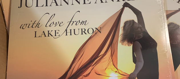"""""""With Love from Lake Huron"""" vinyl is here!"""
