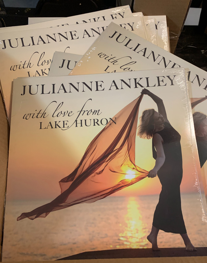 """With Love from Lake Huron"" vinyl is here!"