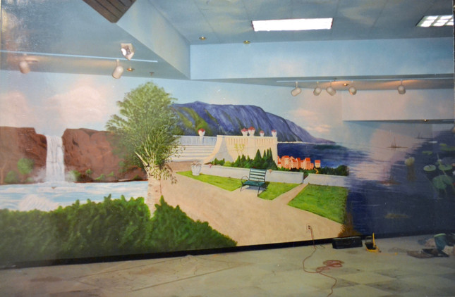 Mural for Macomb Mall
