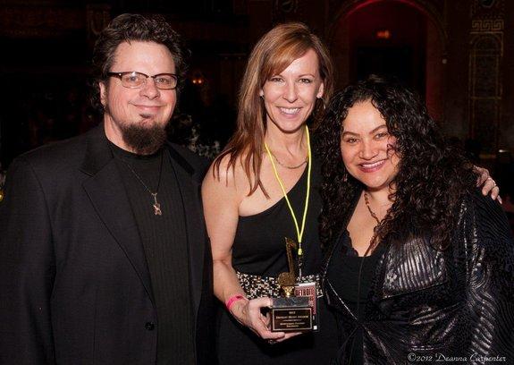 Roscoe and Anamaria at Detroit Music Awards