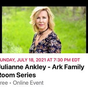 The Ark Family Room Series presents Julianne Ankley streaming live!