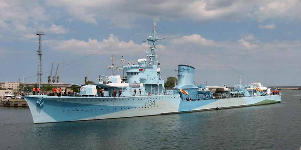 ORP BŁYSKAWICA - The Ship, her crew and World War 2
