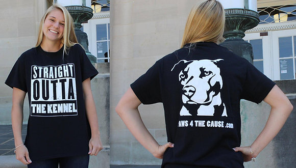 """Straight outta the Kennel"" T-Shirt"