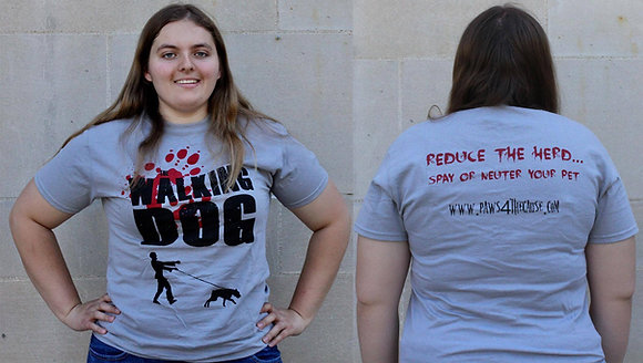 """The Walking Dog"" T-Shirt"