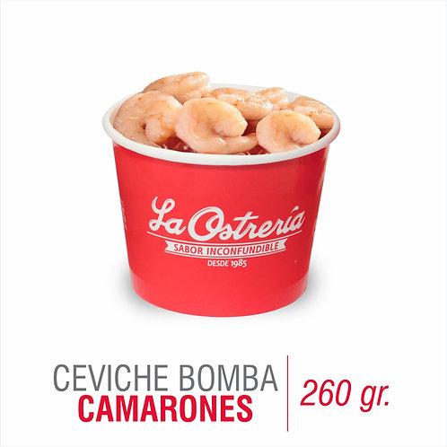 Ceviche Bomba de camarones