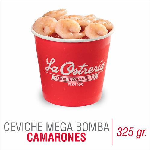 Ceviche Mega Bomba de camarones