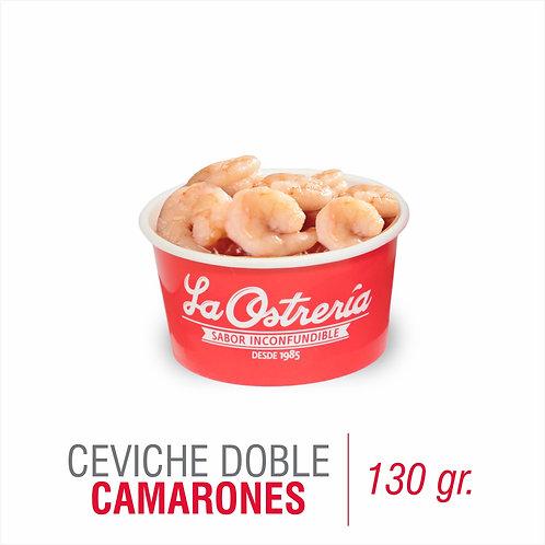 Ceviche Doble de camarones