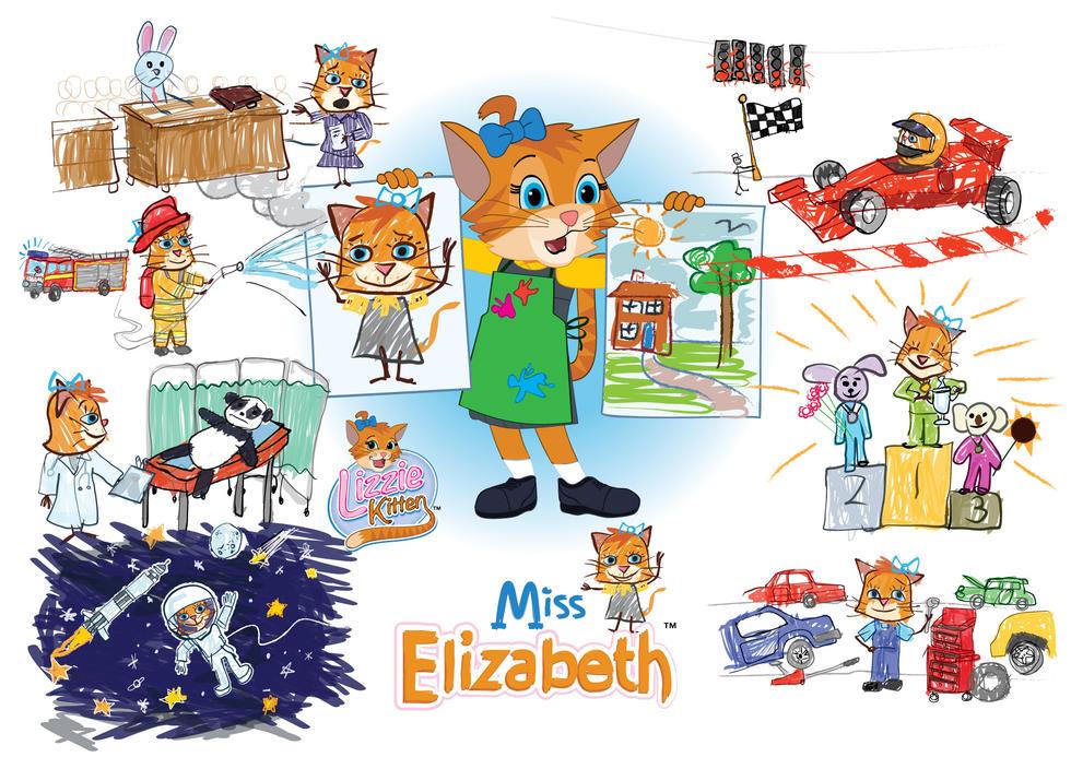 Miss Elizabeth Poster