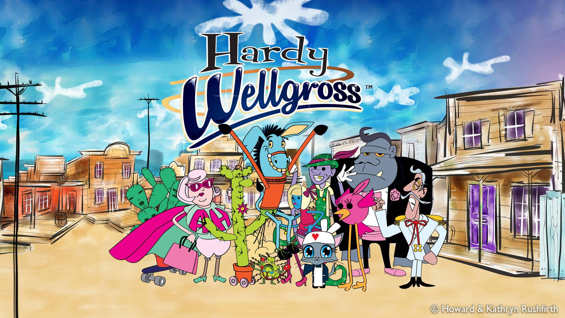 Hardy Wellgross title card.