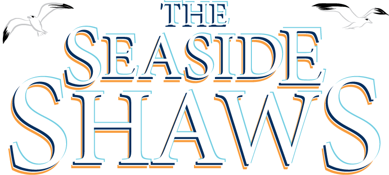 Seaside Shaws logo with Gulls