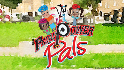 Rushfirth Studios Characters: Pedal Power Pals