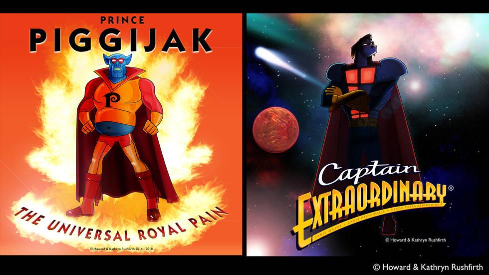 Captain Extraordinary® The evil Piggijak