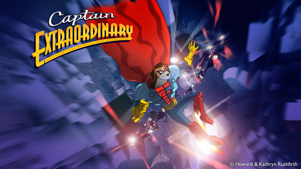 Captain Extraordinary and the Blinking Timewasters