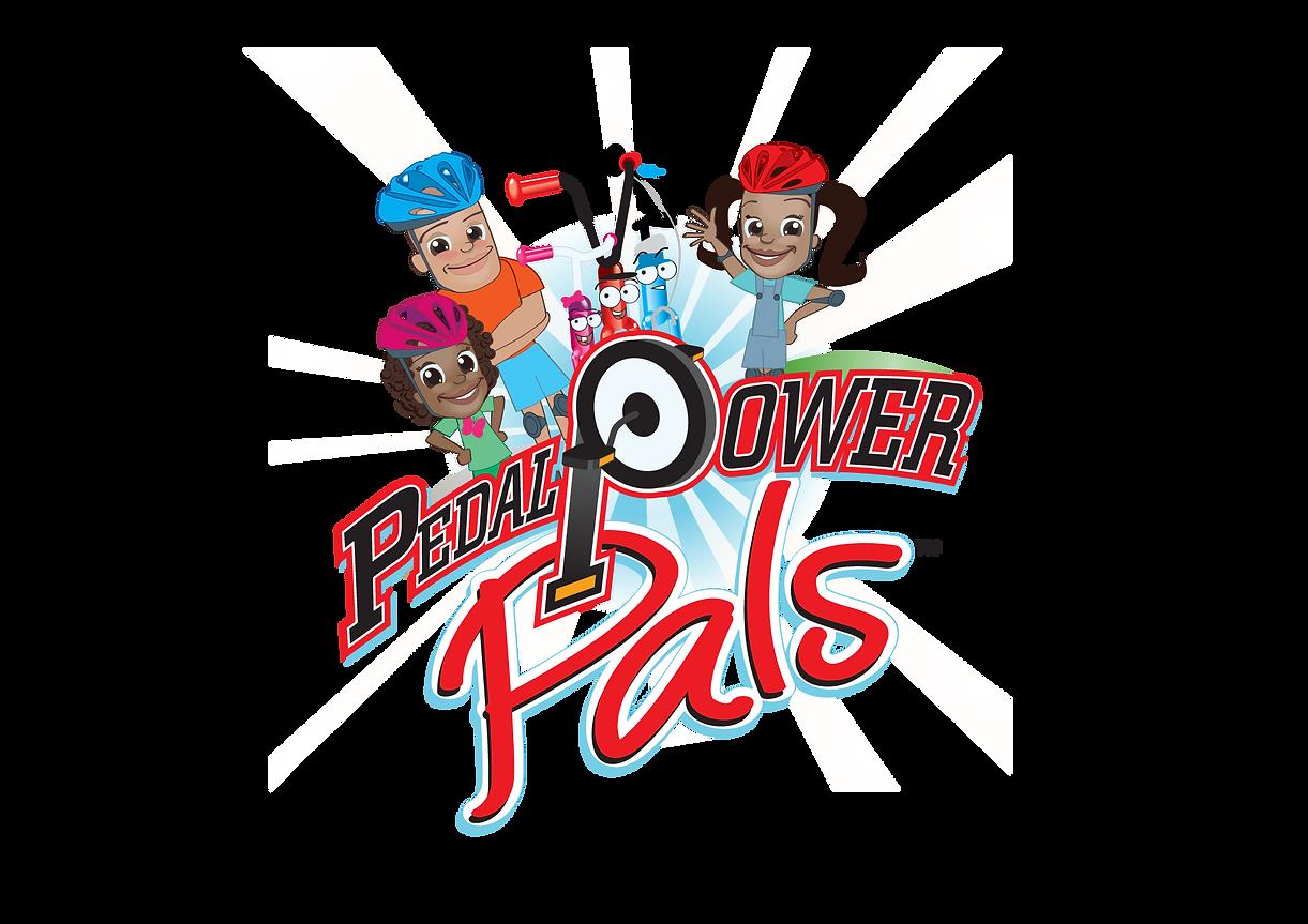 Pedal Power Pals Preschool TV show logo