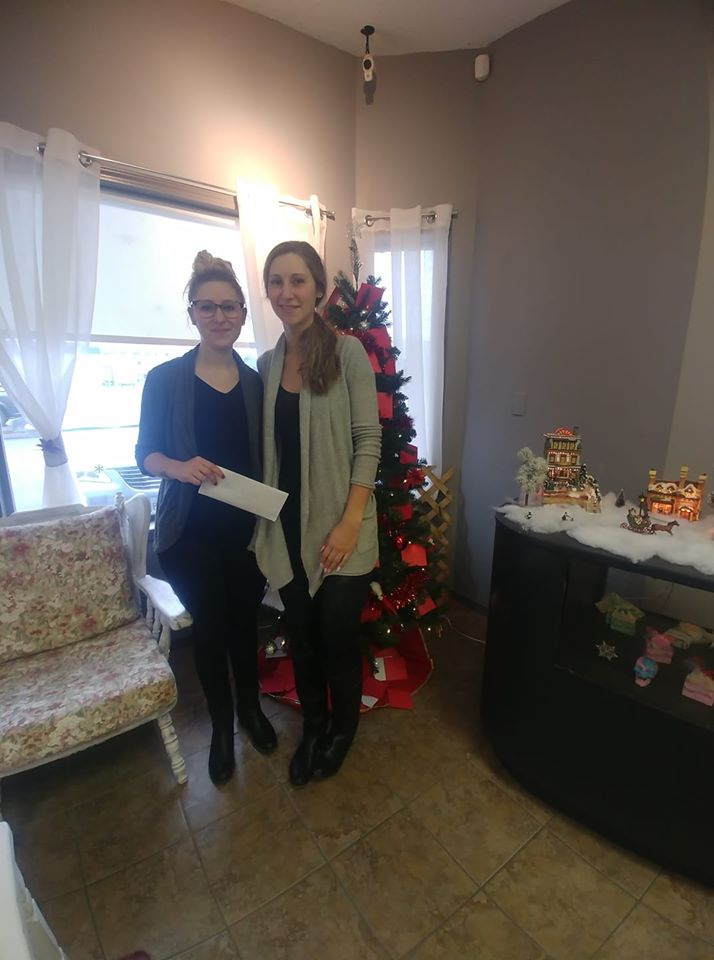 Cavallo Aesthetics & Day Spa 2019 Donation