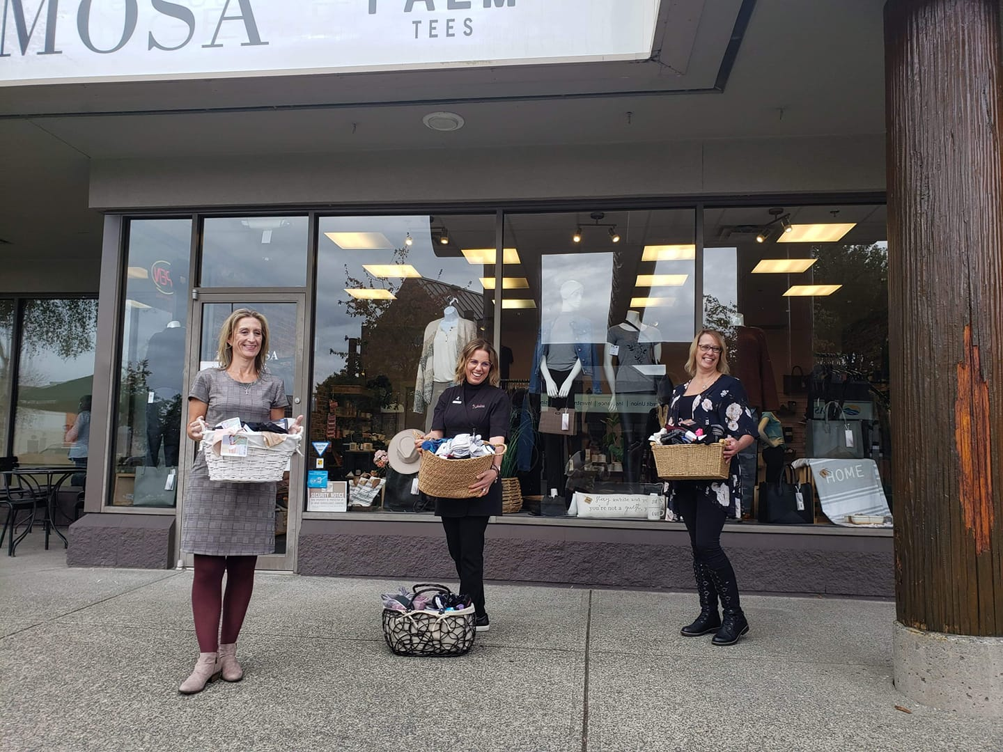 Hermosa Boutique and Eden Street Salon & Day Spa 2020 Donation