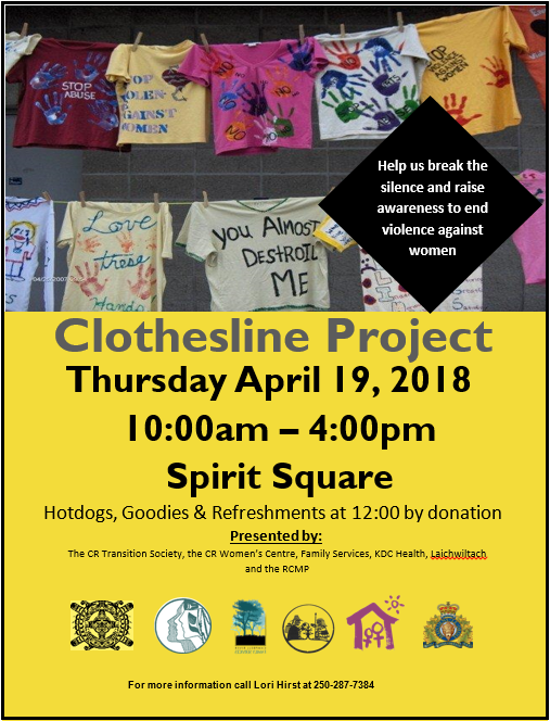 The Clothesline Project 2018