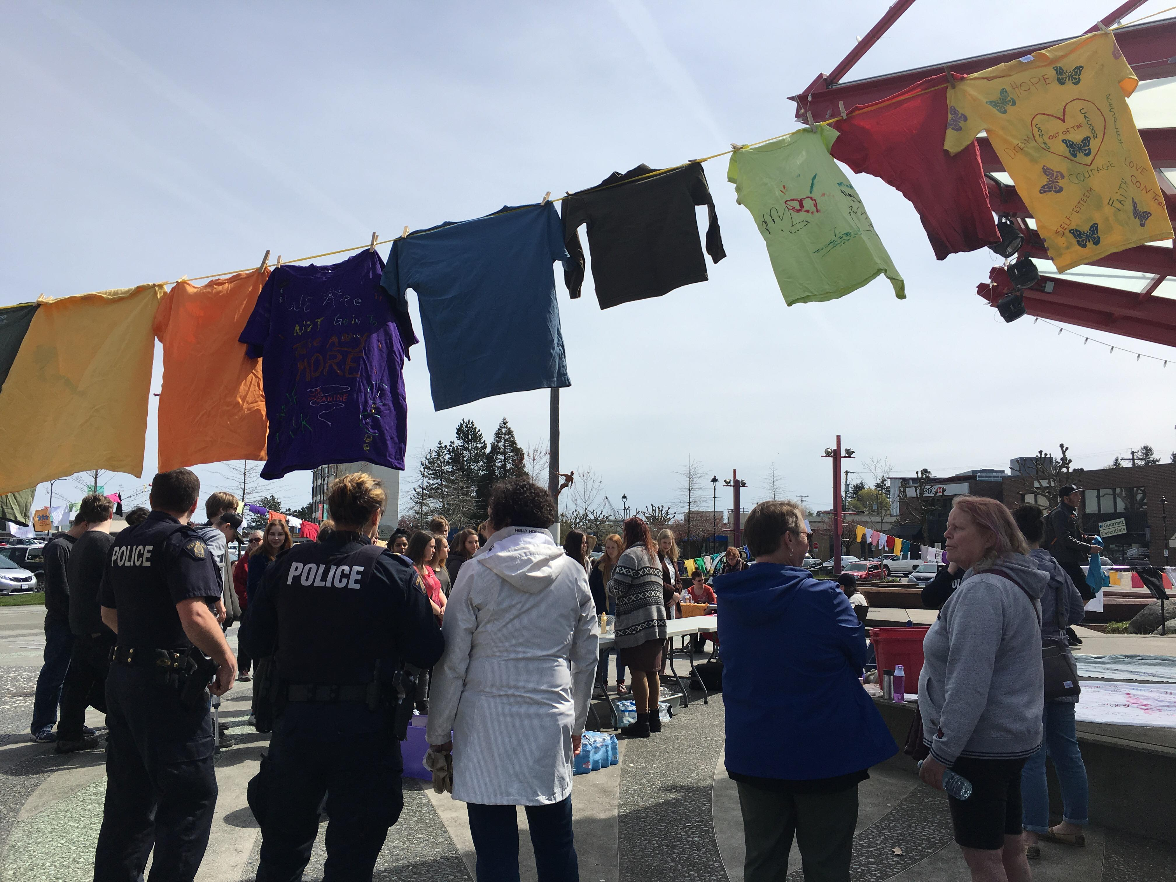 Clothesline Project 2018