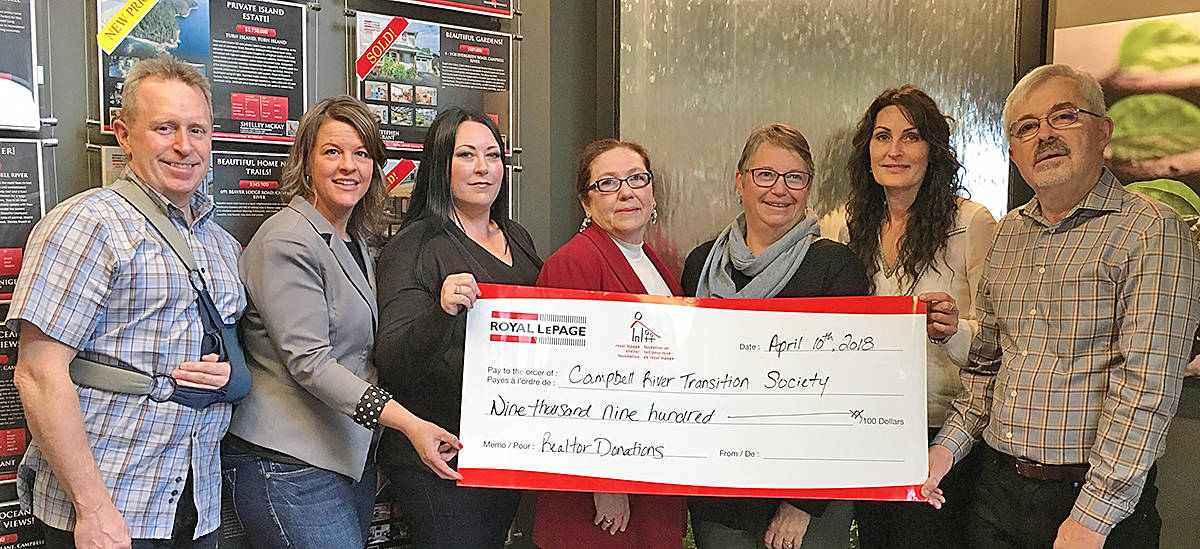 Campbell River Realtors 2018 Donation