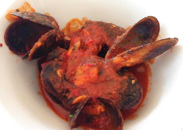 Mussels in cacciucco